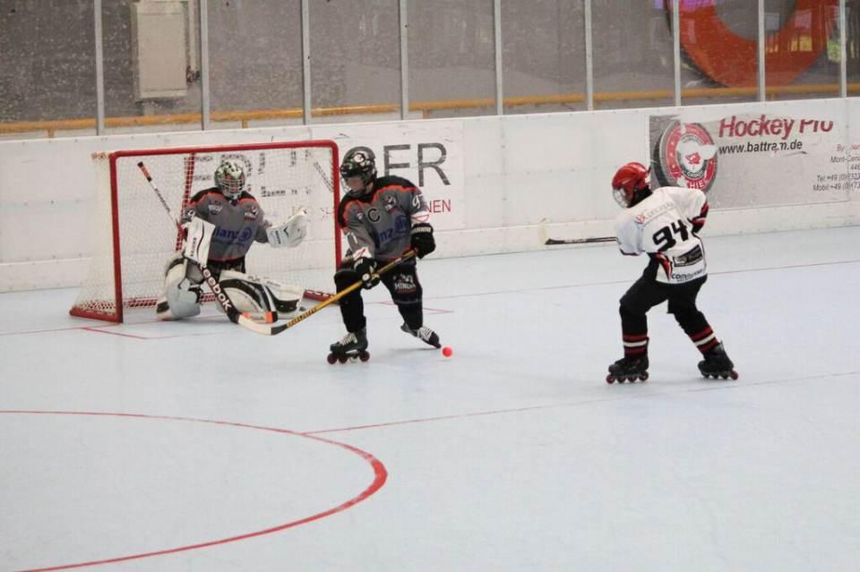 kurze ecke hockey